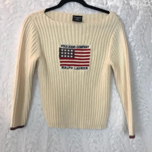 Co Lauren Jeans Vintage Cotton Polo Ralph Sweater rCoxdBe